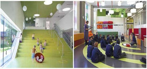 学校教育橡胶地板