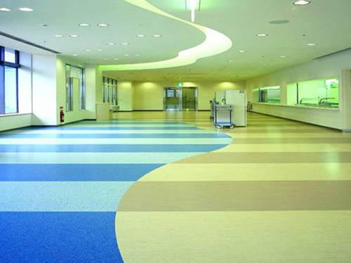 橡胶地板施工流程-森纳橡胶地板告诉您
