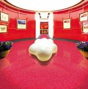 森纳橡胶地板突破性工艺塑造超耐磨精品