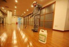 橡胶地板的清理也是有着技术含量的